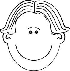 clip art black and white Boy Face Black & White clip art vector clip art online royalty free Cartoon clip art Clip art Boy face