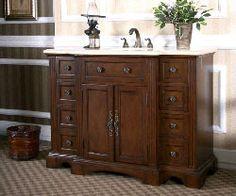 "48"" Legion W5299 : bathroom vanity #BathroomRemodel #BlondyBathHome #BathroomVanity  #TraditionalVanity"