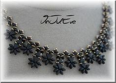 Colliers, Schéma Collier Istra est une création orginale de Vinjuleve sur DaWanda