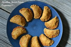 Meatless Sweet Potato Empanadas