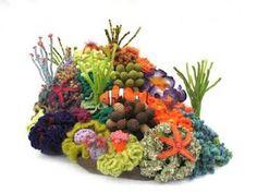 Crochet corals