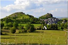 Apchon, Cantal, Auvergne, France