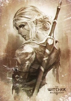 Ciri by MonoriRogue.deviantart.com on @DeviantArt