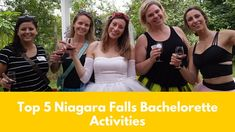 Top 5 Things to do in Niagara Falls for a Bachelorette Party | Milk and Coco