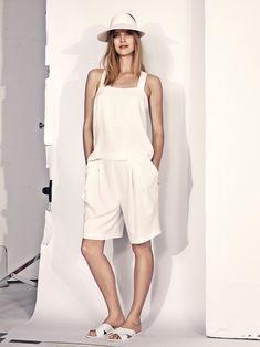 Mirte Maas Wears H&Ms Summer 2014 Collection