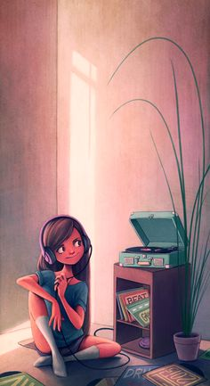 Just wanna stay in and listen to some music.