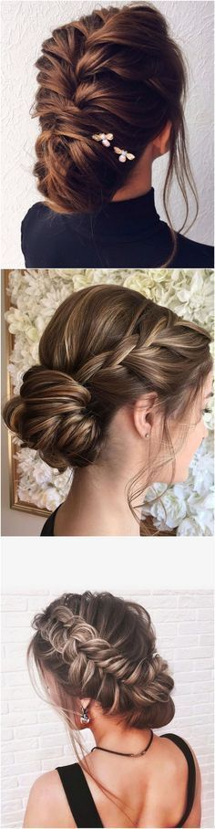 timeless twisted updo bridal wedding hairstyle ideas