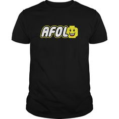 AFOL LOGO Tshirt and sweater ,Make someone happy with the gift of a lifetime,this includes back to school,thanksgiving,birthdays,graduation,Christmas,Halloween costumes,first day,last day,and any special celebrations. For womens,youth and mens sizes.