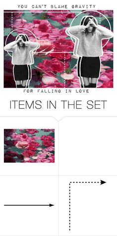 """You Can't Blame Gravity"" by lucidmoon ❤ liked on Polyvore featuring art and emmastopandfeaturedsets"