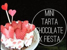 Día de los enamorados: Cómo hacer Tartaletas con Chocolate, Frutillas ❤ ...