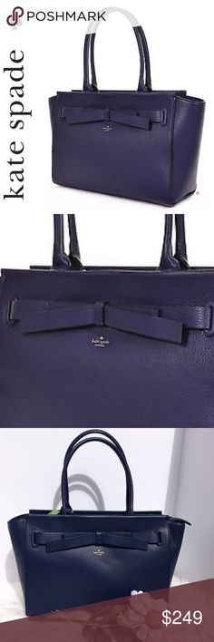 SALE kate spade Blue Joley Avalon Place Bag Fabulous  NWT kate spade Blue Joley Avalon Place Bag this bag is Elegant and always sophisticated Plenty of room for all your essentials and take alongs see photo for details. Perfect gift for that loved one it Treat yourself to a High Quality Leather kate spade bag kate spade Bags Satchels