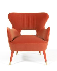 Babe | Armchair | The curvy lines celebrate the designer's dedication to…
