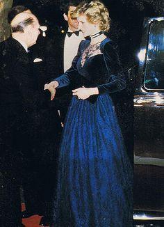 Princess Diana's gown and gem