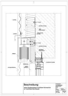 A-03-0021 unterer Anschluss einer Pfosten- Riegel- Fassade ...