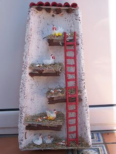 Látkové a Clay: Ruční Zdobené Texas. Diy Crafts Slime, Tile Crafts, Decor Crafts, Fairy Garden Doors, Fairy Garden Houses, Clay Houses, Ceramic Houses, Decorative Tile, Miniture Things