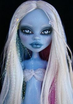 Frostbite ~ OoAk Monster High Dressed Abbey Repaint By Alison | eBay