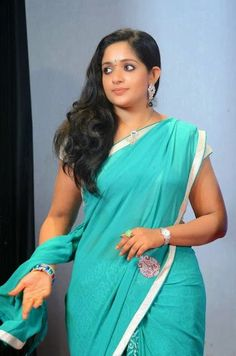 Kavya Madhavan Latest Saree Photos Malayalam Actress | FILM ACTRESS PLUS