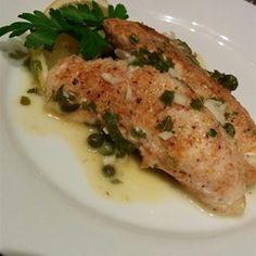 Quick Chicken Piccata Recipe and Video