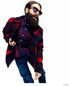 Ricki Hall Delivers High Energy Fall Fashion Shoot for DT Spain image Ricki Hall Model DT Spain 003