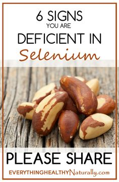 6 Signs You Are Deficient In Selenium