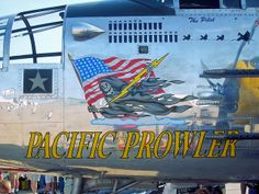 Nose Art, B-25 Pacific Prowler | Flickr - Photo Sharing!