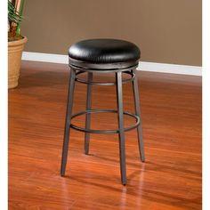 Found it at Wayfair - American Heritage Silvano Swivel Bar Stool with Cushion Swivel Counter Stools, Counter Height Bar Stools, 24 Bar Stools, Bar Counter, Bar Furniture For Sale, Furniture Ideas, Studio Furniture, Thing 1, Adjustable Legs