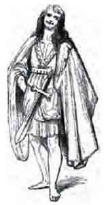14th century Irish king -More Traditional Irish Clothing