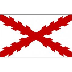 Bandera Cruz de Borgoña 150x90cm 10,00€