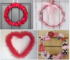 22 Valentine Wreath tutorials