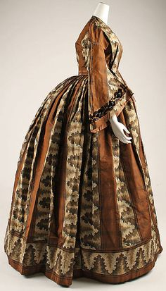 Dress, ca. 1850 | In the Swan's Shadow
