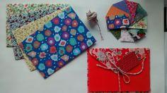 Envelopes em tecidos