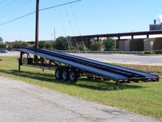 2017 3 Car hauler, Wedge, Boat trailer with Tower Balls and Winch Car Hauler Trailer, Trailer Plans, Trailer Hitch, Best Trailers, Trailers For Sale, E Boat, Equipment Trailers, Covered Wagon, Hot Shots