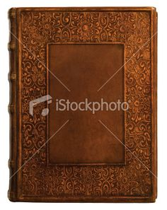 Antique Leather Book Cover