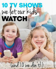 10 Shows I Let My Young Children Watch (And Some I Don't!) - one mom's discerning guide to age and content-appropriate television shows for young children. Plus some which do NOT make the cut! Must-read for parents today!