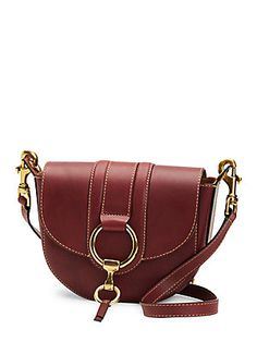 35087f212bef FRYE ILANA HARNESS SMALL LEATHER SADDLE BAG.  frye  bags  shoulder bags   leather