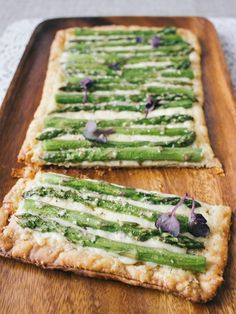 Please everyone this Thanksgiving with Asparagus Tart.