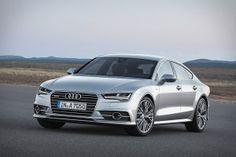 2015 Audi A7 white
