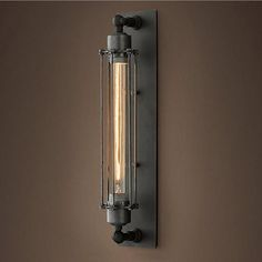 New Industrial Revolution Era Style Rustic Vintage Wall Lamp fro Living Room