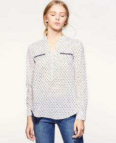 Image result for women's shirt with mandarin collar