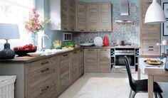 FAMILY LINE Repaso Kitchen Sanremo Complete kitchen unit of 16 elements for area m² Kitchen Units, Kitchen Cabinets, Interior Inspiration, Furniture, House, Design, Home Decor, San, Colour