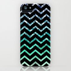 Blue and white phone case