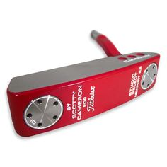 Golf Loft Ruby Series £80.00 free Postage. Pictures do not do this finish justice! It looks stunning in the flesh and a more striking putter I doubt you will ever see! The red looks amazing from above and 'frames' the ball for alignment beautifully. It doesn't have to be Red either! There are many funky colours available, yellow and orange to name but a few, let your creative side loose and come up with something completely unique.