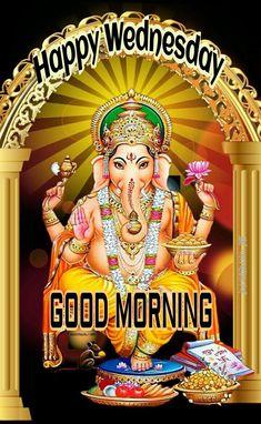 Shri Ganesh, Happy Wednesday, Good Morning, Comic Books, Comics, Buen Dia, Bonjour, Cartoons, Cartoons
