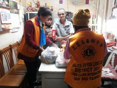 Hualien Formosa #LionsClub (Taiwan) distributed supplies and aid to people in need