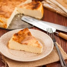 Polish style cheesecake
