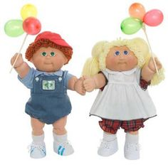 I'll never forget my first cabbage patch kid! I think I cried I was so happy! Lol