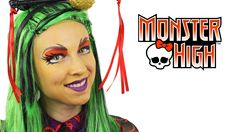 A Jinafire Long Monster High Makeup Tutorial from the super-talented Ashlea Henson. If you love Monster High, you won't want to miss this! In this video Ashl...
