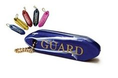 "A great incentive for Guards.   Dimensions: 4"" x .75"" x 1.25"" Colors: Navy, Pink, Red, Royal, Yellow"