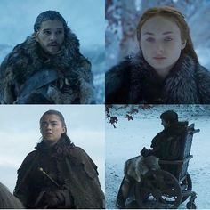"""19.6k Likes, 83 Comments - Game of Thrones Insider (@gotinsider) on Instagram: """"""""When the snows fall and the white winds blow, the lone wolf dies, but the pack survives.""""  -"""""""
