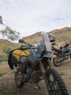 The Giant Loop Great Basin on a Yamaha Tenere XT660Z